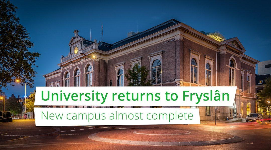 Universiteit keert terug in Fryslân