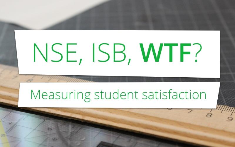 NSE, ISB, WTF? Studenten beoordelen de RUG