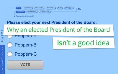 Waarom een verkozen collegevoorzitter geen goed idee is