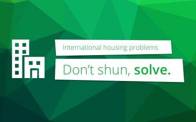 Huisvesting internationale studenten: niet afschuiven, maar aanpakken.
