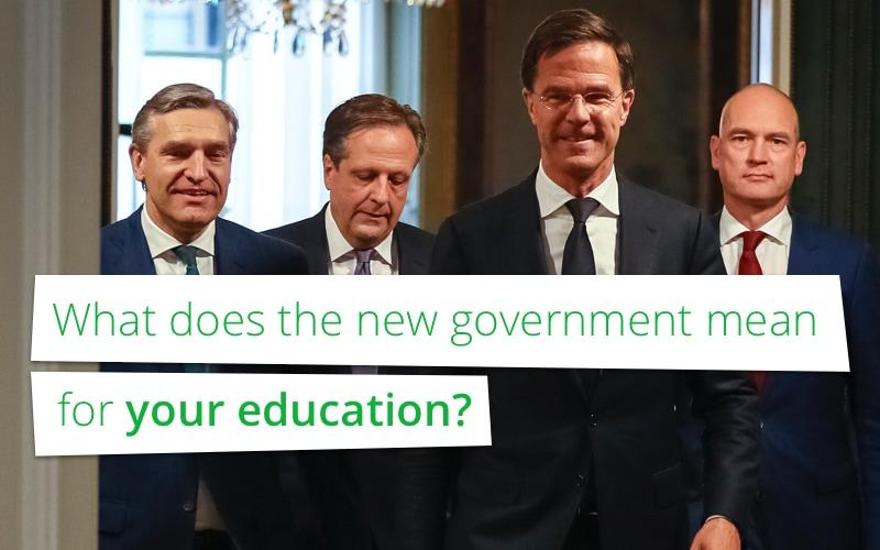 Wat betekent het nieuwe kabinet voor jouw onderwijs?