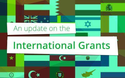 Een update over de International Grants