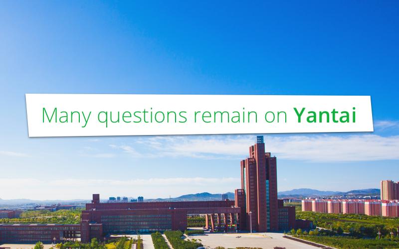 Nog altijd veel vraagtekens over Yantai