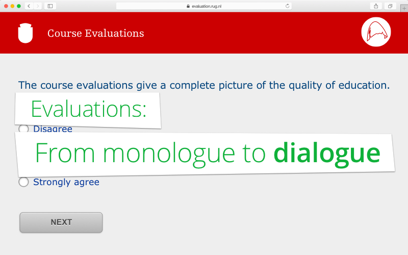 Evaluations: from monologue to dialogue