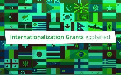 Internationalization Grants A & B uitgelegd