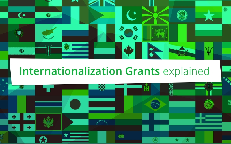 Internationalization Grants A & B uitgelegd