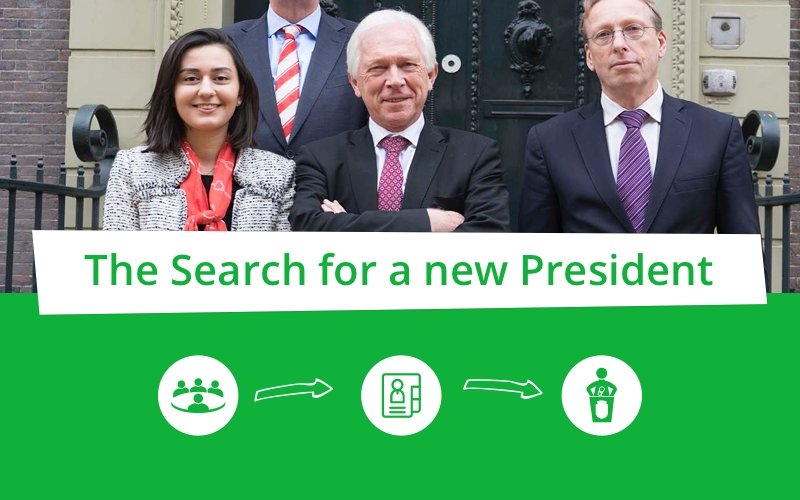 The search for a new President