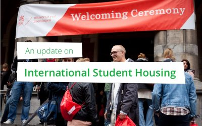 Een update over huisvesting internationale studenten