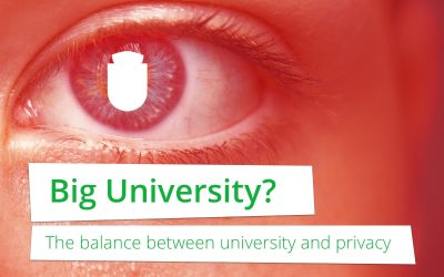 Big University? De balans tussen universiteit en privacy