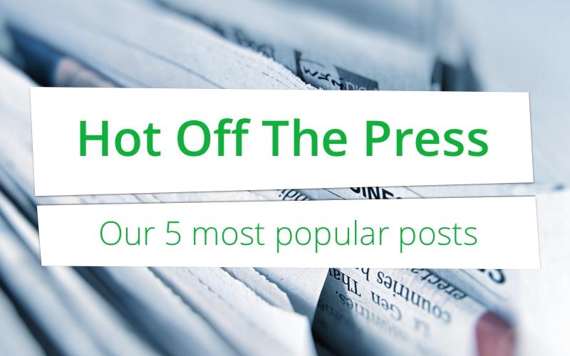 Vers van de pers: onze 5 populairste posts dit jaar