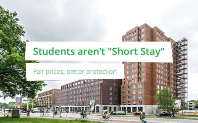 "Students aren't ""Short Stay"""