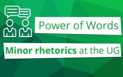 Power of Words: minor rhetorics at the UG