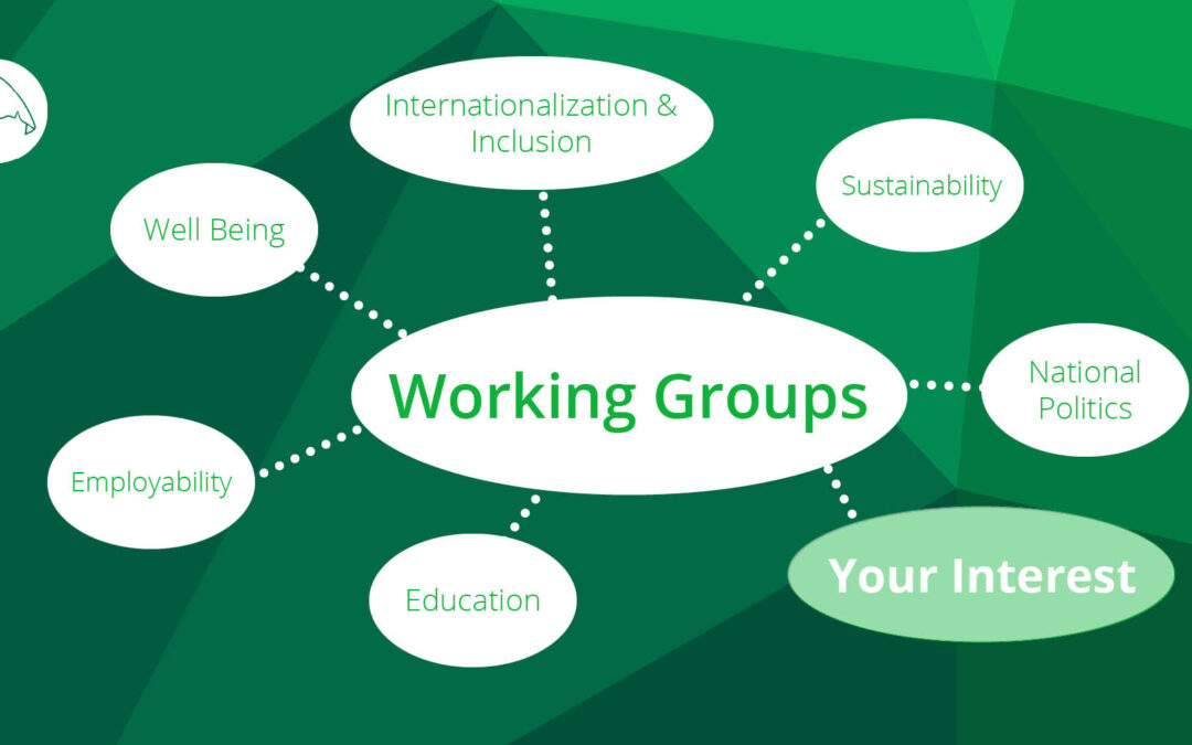 Wanted: Working group members!