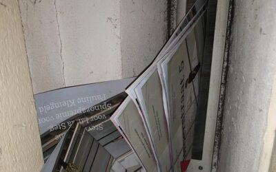 Lijst Calimero wil dat universiteit stopt met drukken magazine Broerstraat 5