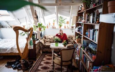 De student van nu woont thuis of in een studio